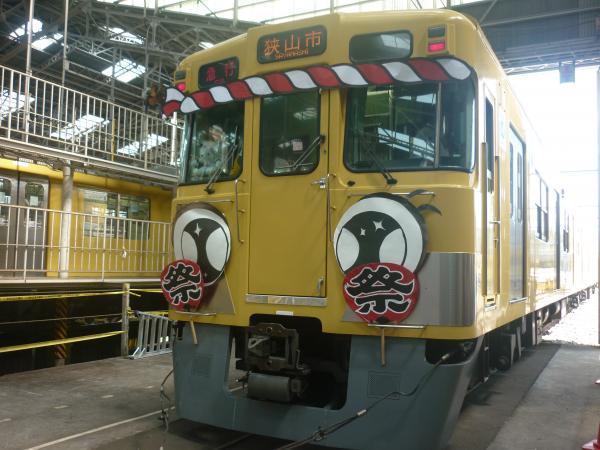 西武2419F 南入曽車両基地2 2012-08-25
