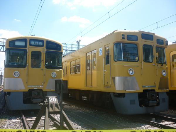 西武N2000系 旧2000系 2012-08-25