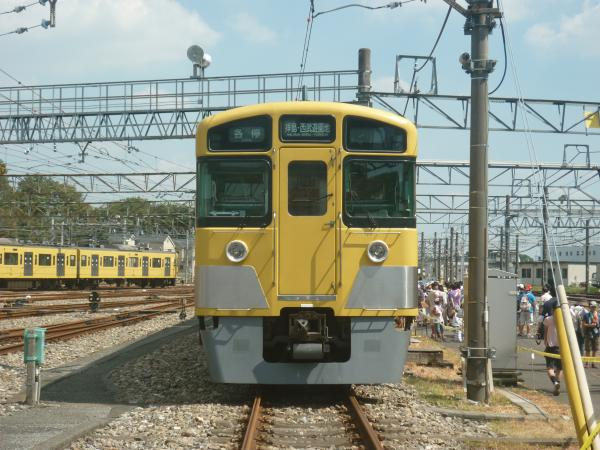 西武N2000系前期車 2012-08-25