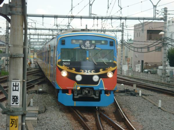 西武3011F 各停飯能行き1 2012-09-22