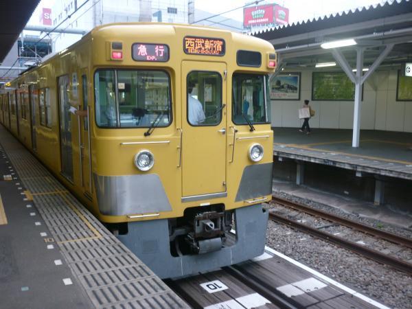 西武2031F 急行西武新宿行き 2012-09-28