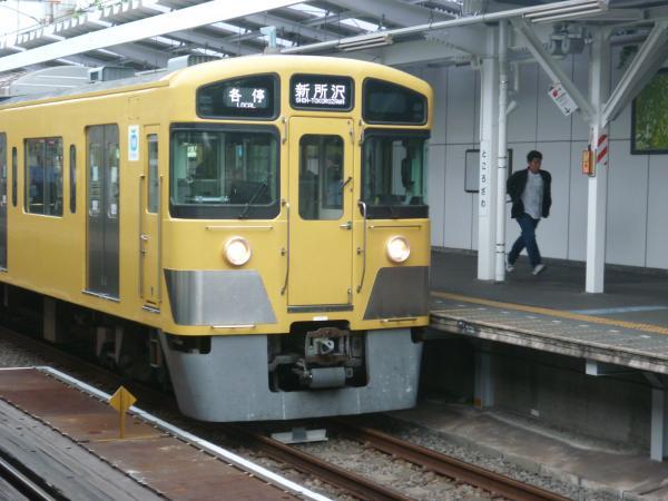 西武2045F 各停新所沢行き 2012-09-28