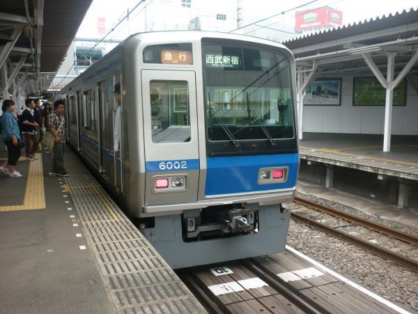 西武6102F 急行西武新宿行き 2012-09-28