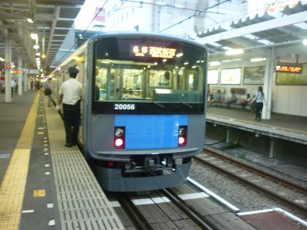 西武20156F 各停西武新宿行き 2012-09-28