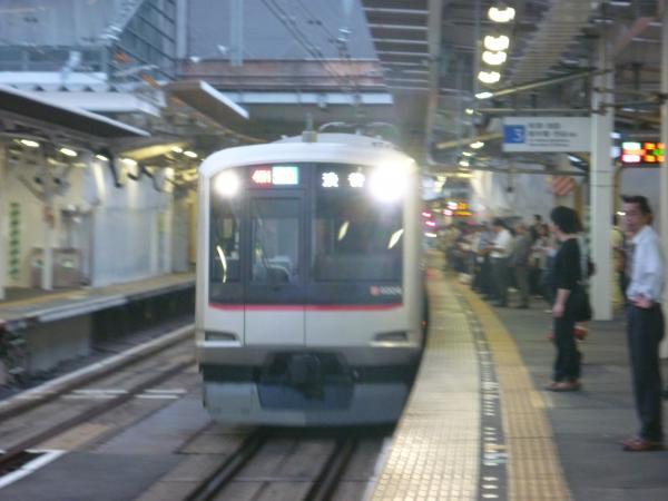 東急4104F 準急渋谷行き 2012-09-28