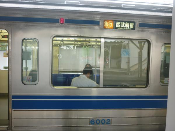 西武6102F 急行西武新宿行き 側面写真 2012-09-28