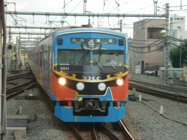 西武3011F 各停飯能行き1 2012-09-29