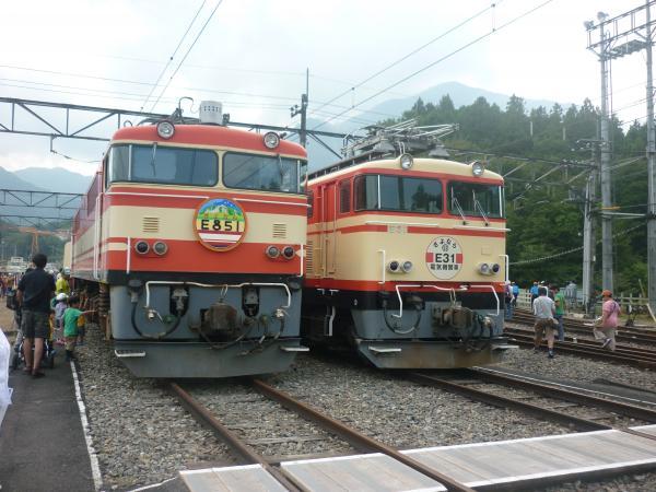 西武E851 E31 横瀬1 2012-09-30