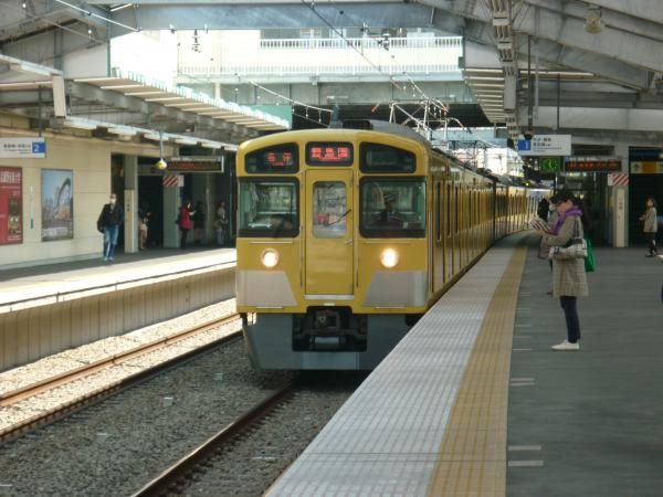 西武2097F 各停豊島園行き 2013-04-13