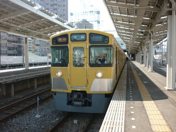 西武2455F+2063F 急行池袋行き 2013-04-13