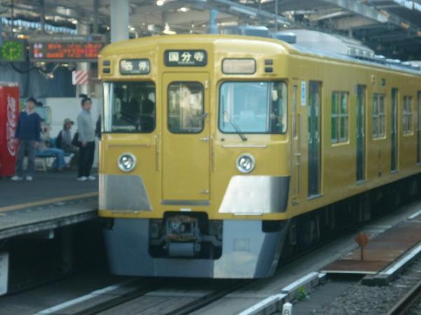 西武2009F 各停国分寺行き 2012-10-21