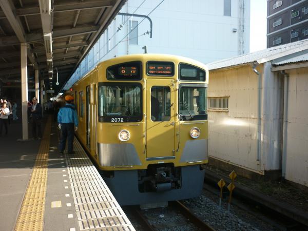 西武2071F 各停新所沢行き 2012-10-21