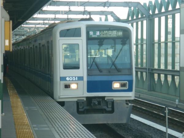 西武6151F 快速小竹向原行き 2012-11-04