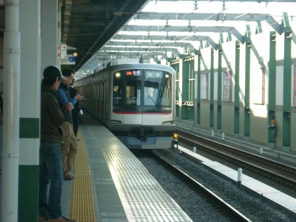 東急4105F 各停渋谷行き 2012-11-04