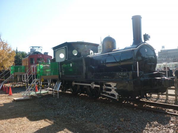 西武SL5 側面写真 2012-11-25