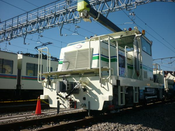 西武鉄道 検測車 2012-11-25