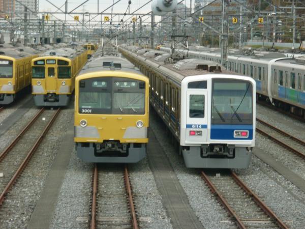 西武3001F 6114F 2012-12-02