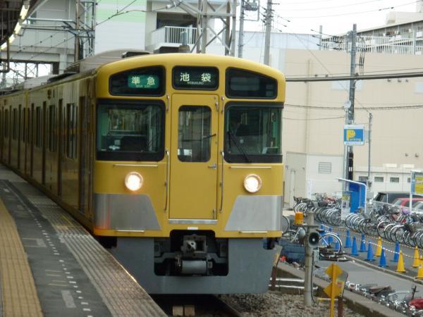 西武2063F 準急池袋行き 2012-12-02
