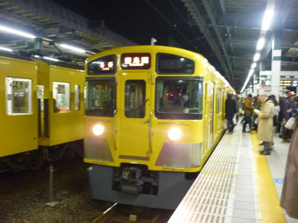 西武2097F 各停豊島園行き 2012-12-07