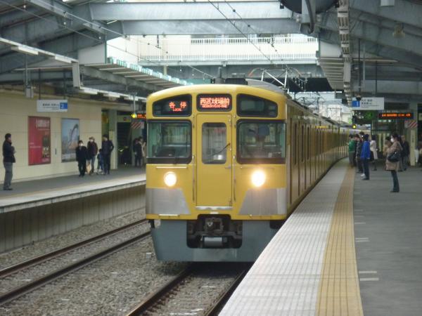 西武2087F 各停西武球場前行き3 2013-04-20