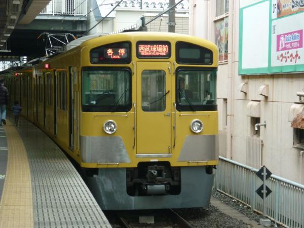 西武2087F 各停西武球場前行き5 2013-04-20