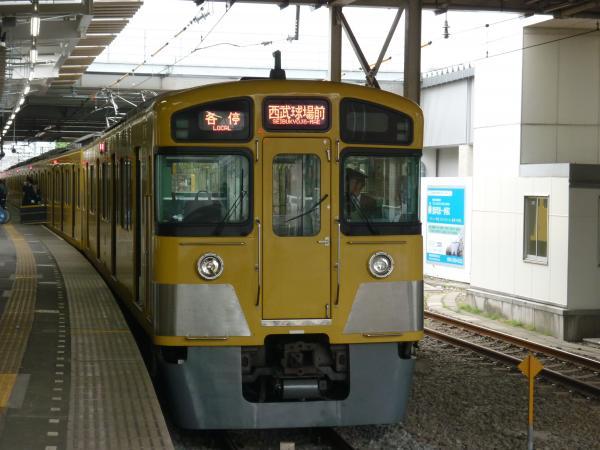 西武2087F 各停西武球場前行き6 2013-04-20