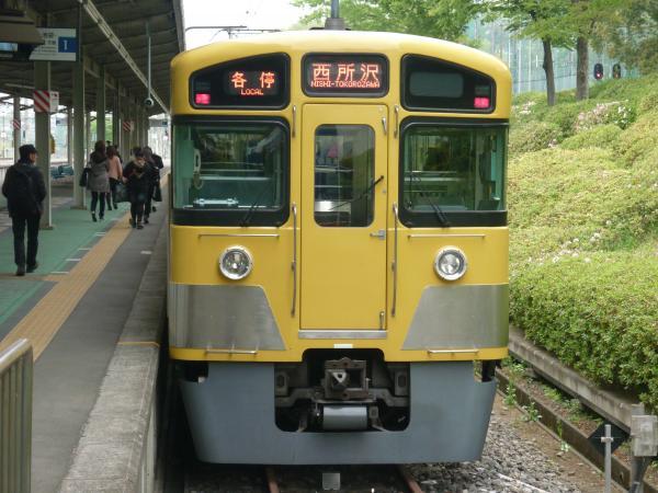 西武2087F 各停西所沢行き 2013-04-20