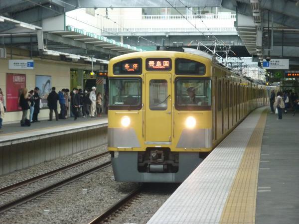 西武2089F 各停豊島園行き 2013-04-20