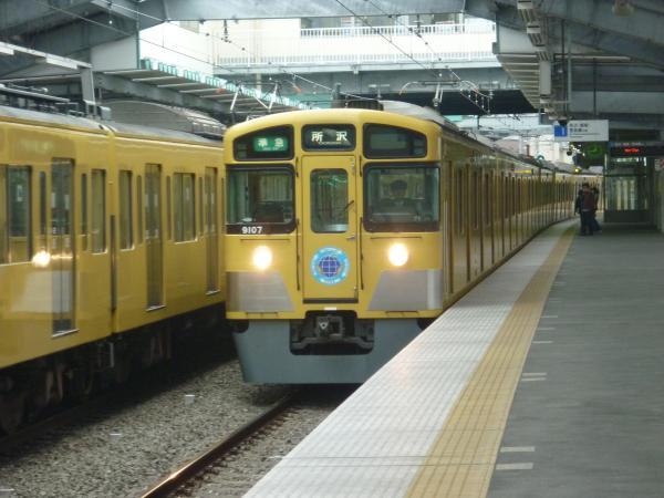西武9107F 準急所沢行き 2013-04-20
