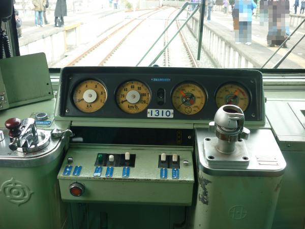 西武1309F 運転台 2012-12-09