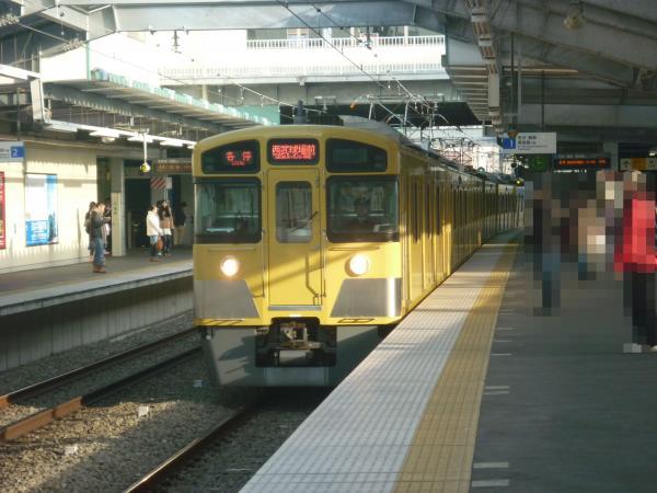 西武2097F 各停西武球場前行き 2013-01-13