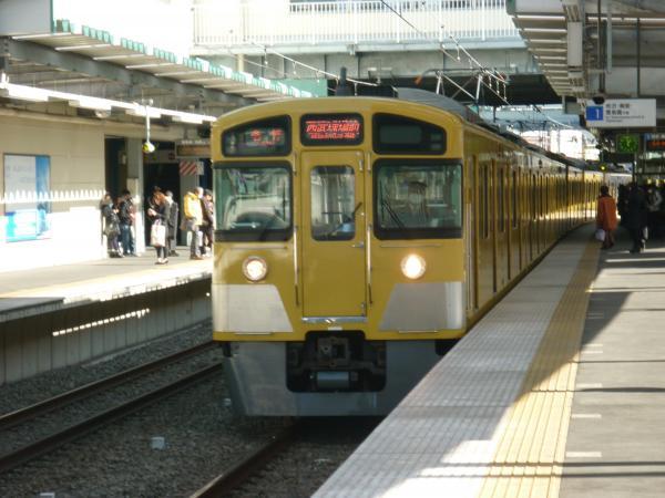 西武2087F 各停西武球場前行き7 2013-01-26