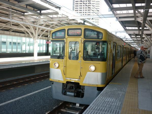 西武2087F 各停西武球場前行き8 2013-01-26