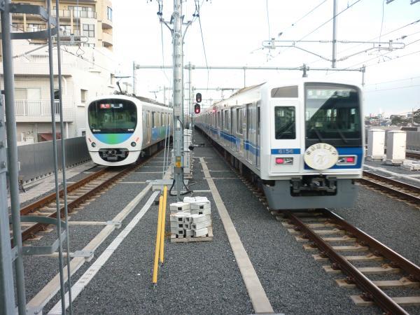 西武6156F 32103F+38105F 2013-01-26