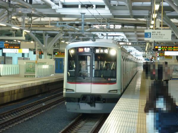 東急4104F 各停新木場行き 2013-01-26