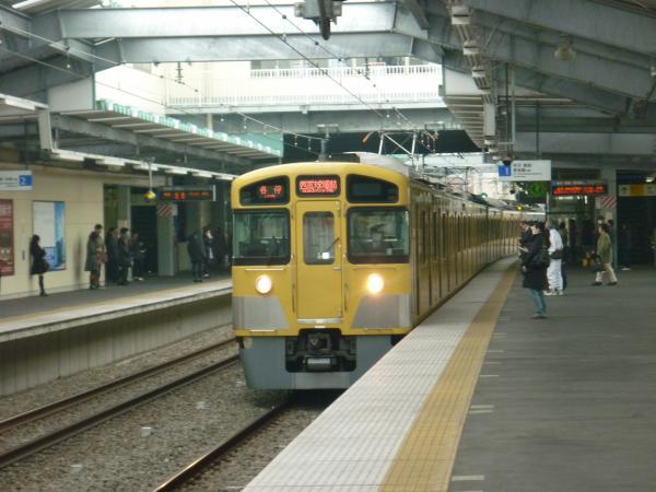 西武2085F 各停西武球場前行き 2013-02-02