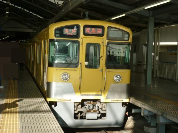 西武2073F 各停豊島園行き 2013-02-02