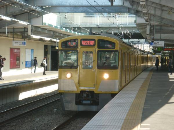 西武2073F 各停西武球場前行き 2013-02-03