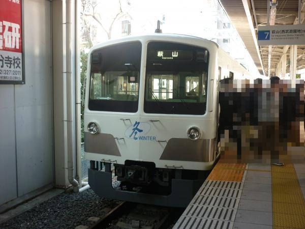 西武1253F 萩山行き 2013-02-03