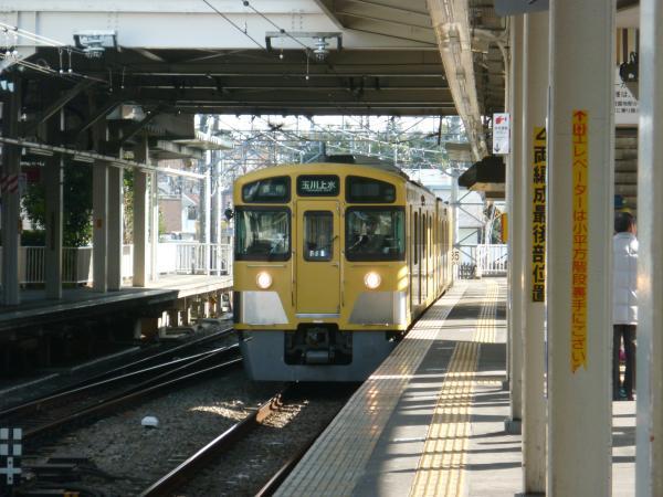 西武2049F 各停玉川上水行き 2013-02-03