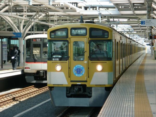 西武9108F 準急西武球場前行き6 2013-04-27
