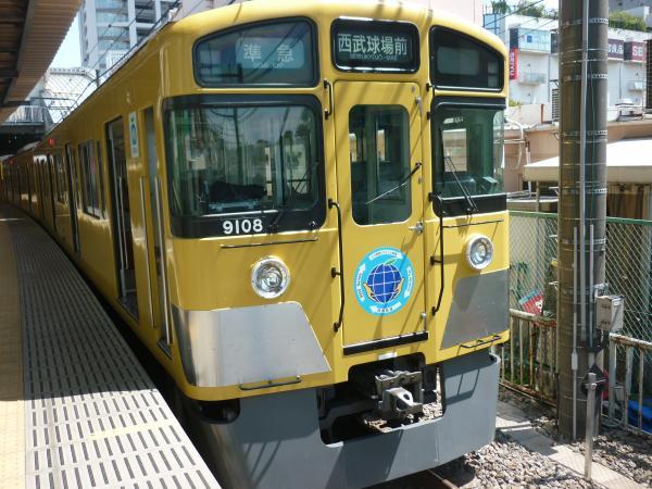 西武9108F 準急西武球場前行き8 2013-04-27
