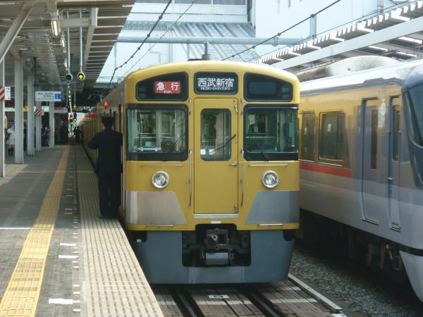 西武2059F 急行西武新宿行き 2013-04-27