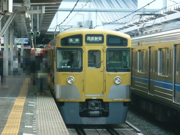 西武2507F+2517F 各停西武新宿行き2 2013-04-27