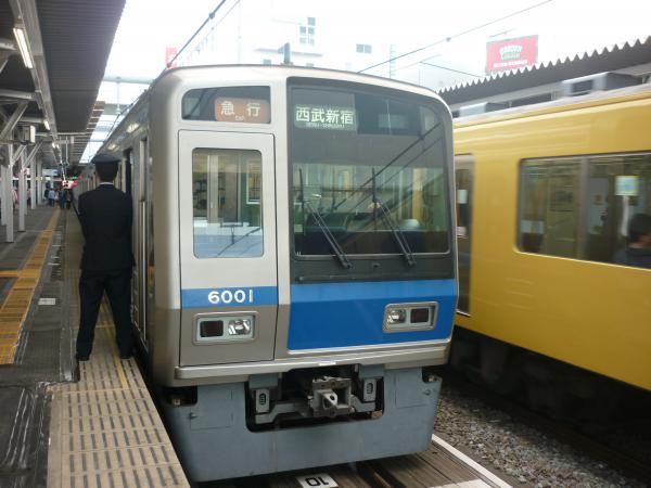 西武6101F 急行西武新宿行き 2013-04-27
