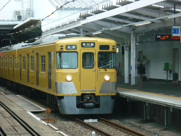 西武2009F 各停本川越行き 2013-04-27