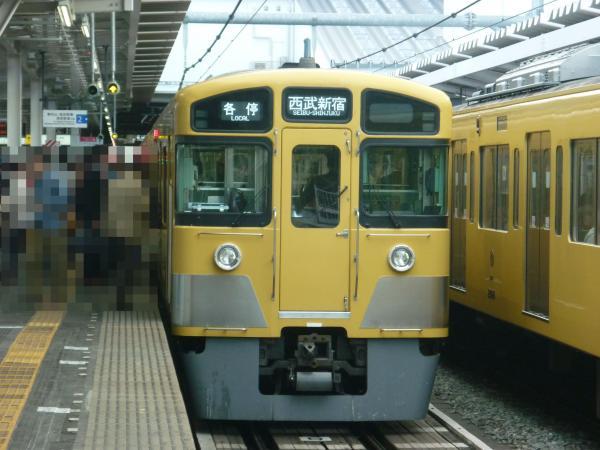 西武2065F 各停西武新宿行き 2013-04-27