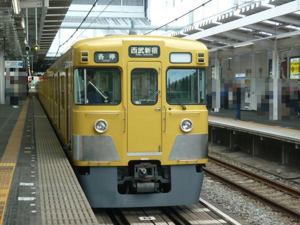 西武2029F 各停西武新宿行き 2013-04-27