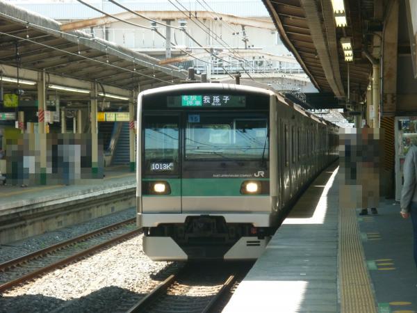 2013-04-28 常磐線E233系 我孫子行き