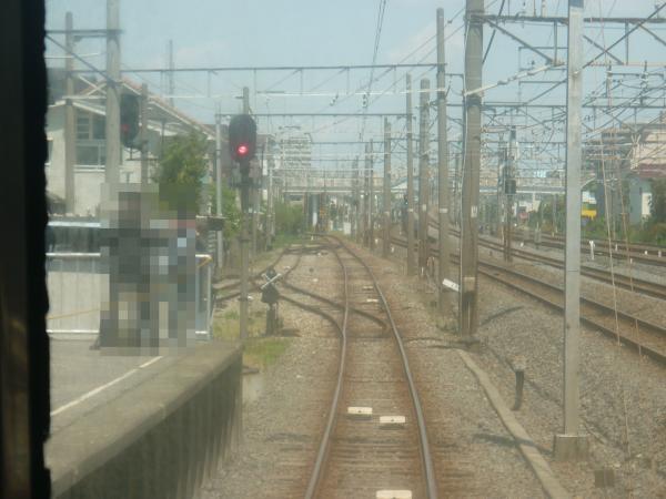 2013-04-28 流鉄2000形 菜の花 前面展望